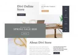 divi online store