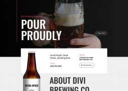 brewery landing